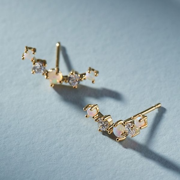 Anthropologie Rhea Climber Earrings 0zhWL1